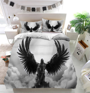 Fallen angel Duvet Cover Bedding Set
