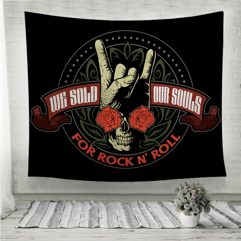 Hard rock Wall Tapestry