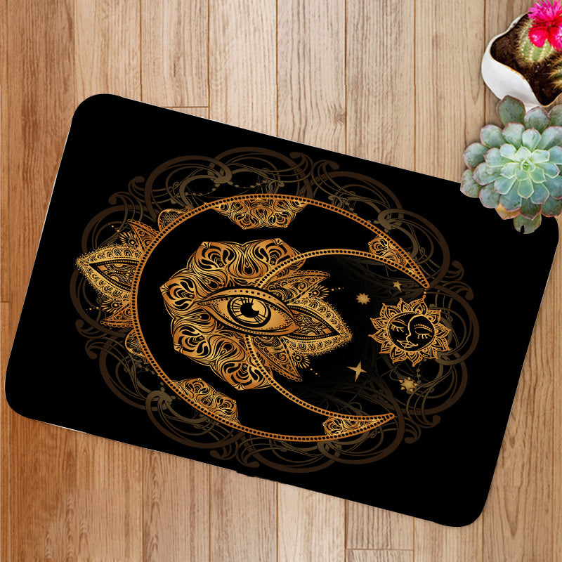 Alchemy moon sun Bath Mat