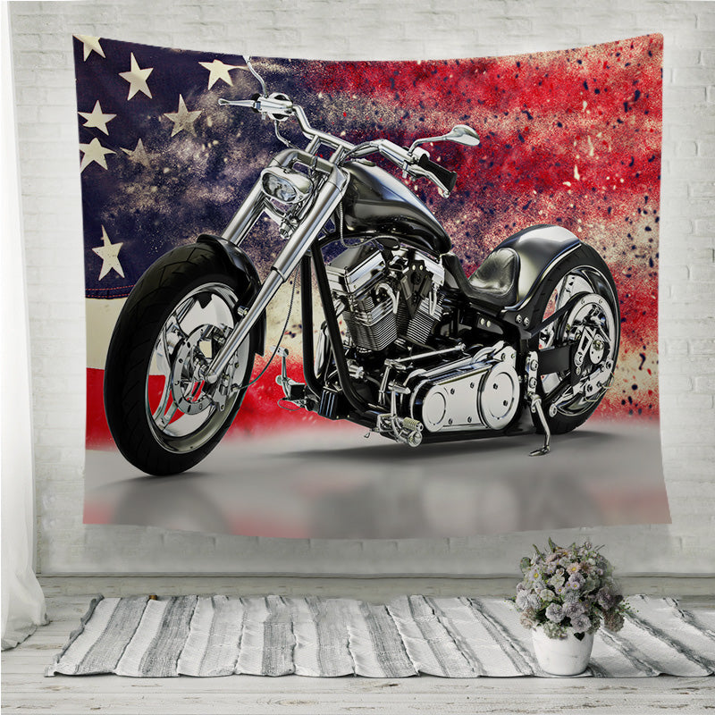 American motorcycle Wall Tapestry