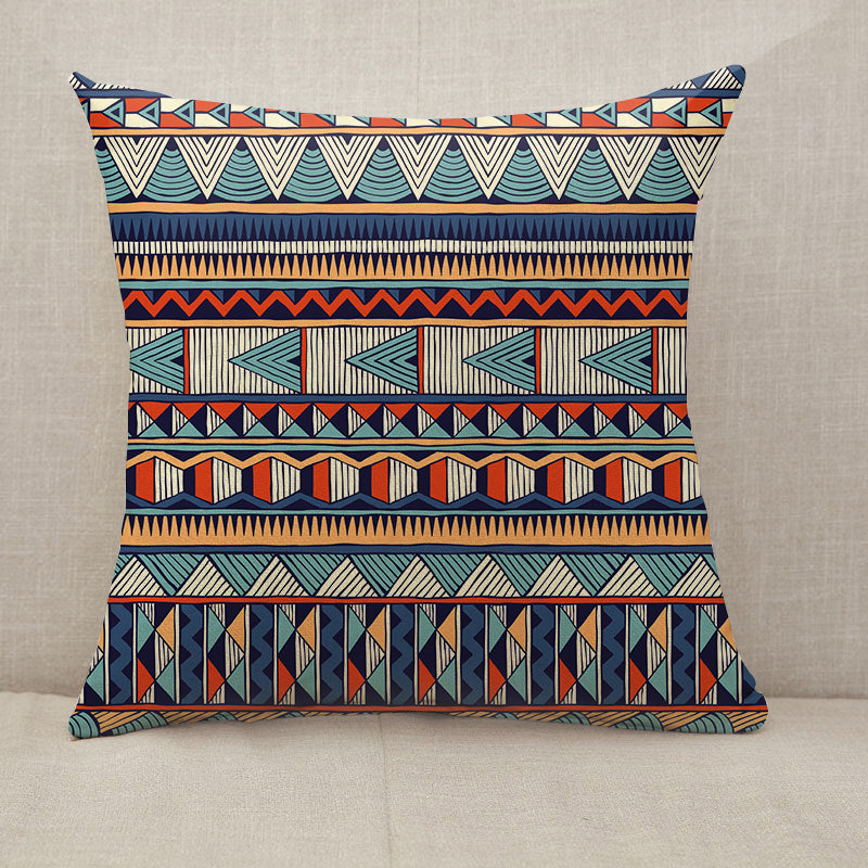 Tribal vector pattern Throw Pillow [With Inserts]