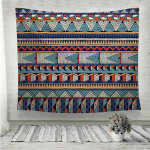 Tribal vector pattern Wall Tapestry