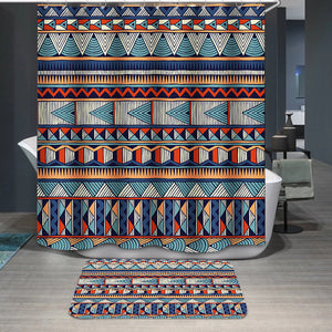 Tribal vector pattern Shower Curtain