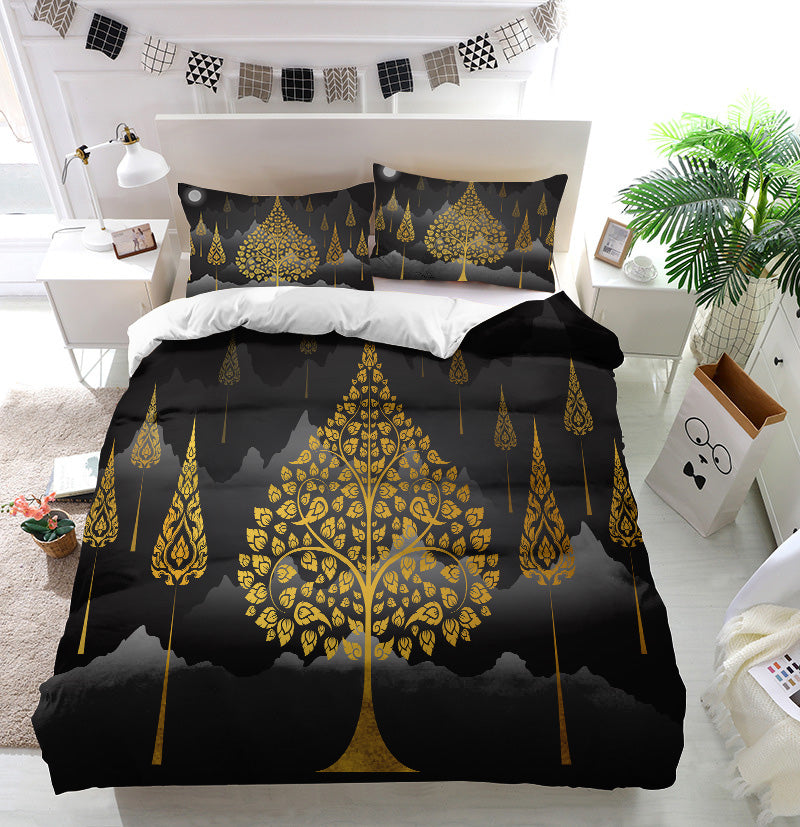 Bodhi Tree thai Duvet Cover Bedding Set