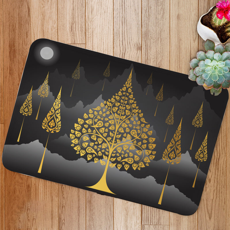Bodhi Tree thai Bath Mat