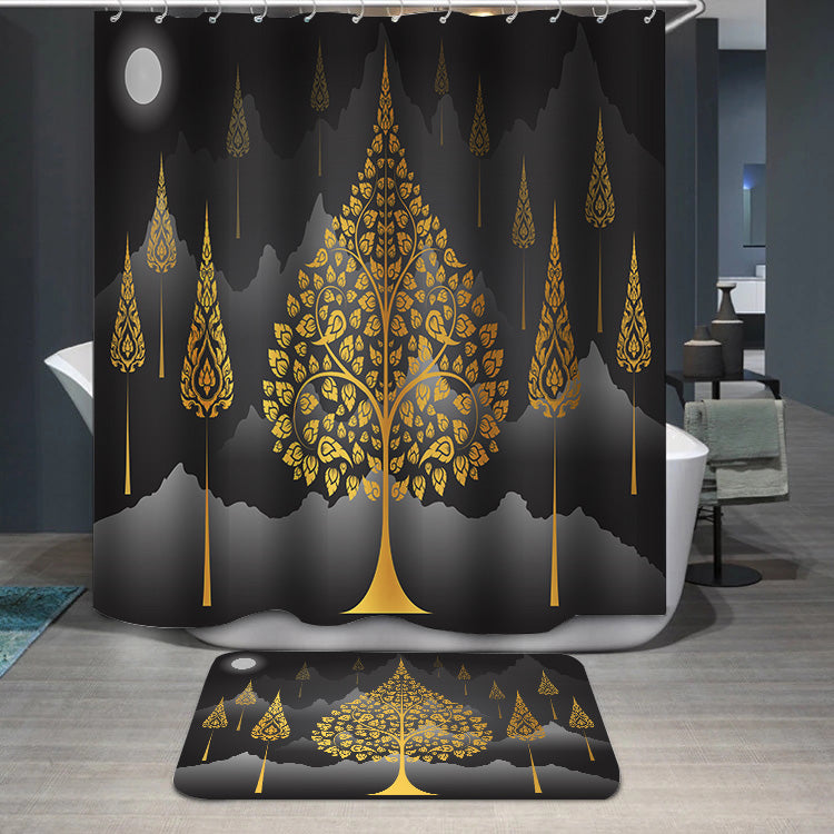 Bodhi Tree thai Shower Curtain