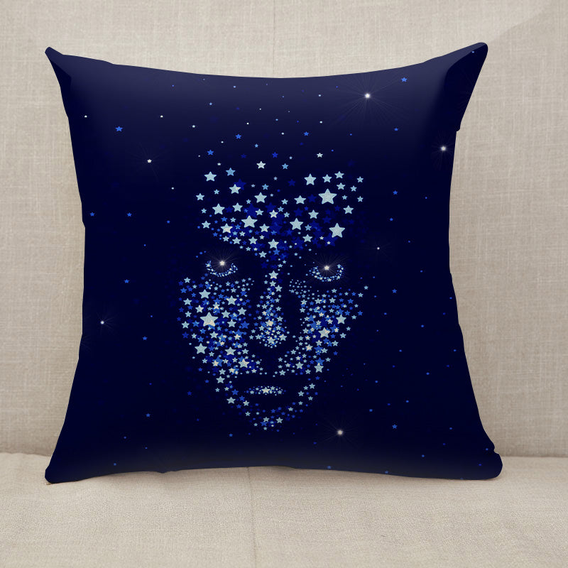 Star man Throw Pillow [With Inserts]