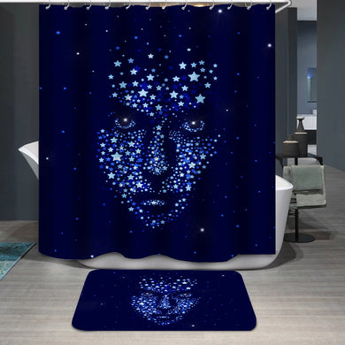 Star man Shower Curtain