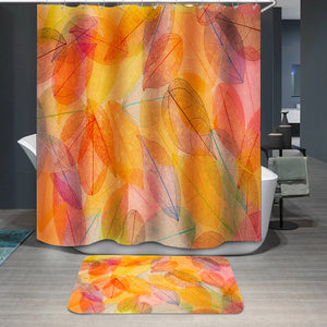 Autumn beautiful leaves Shower Curtain
