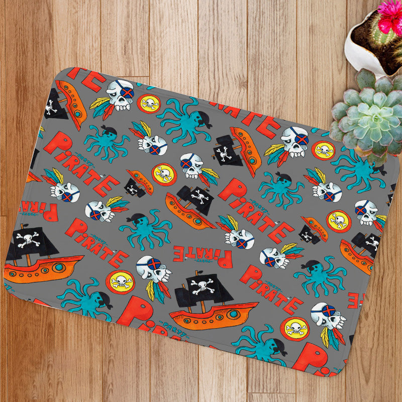 Pirate party Bath Mat