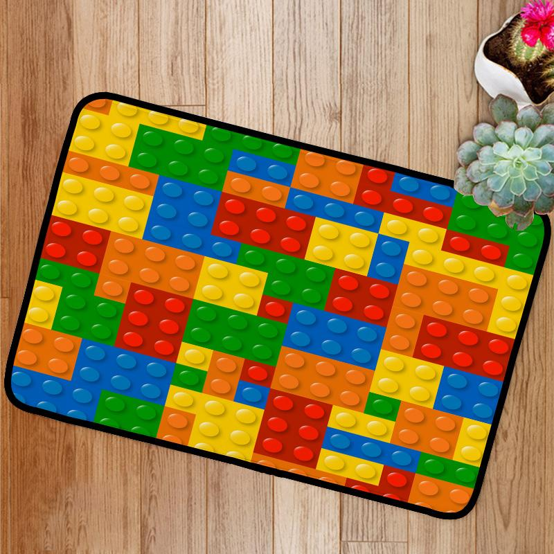 Lego Blocks Bath Mat