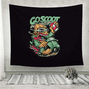 Scooter Wall Tapestry