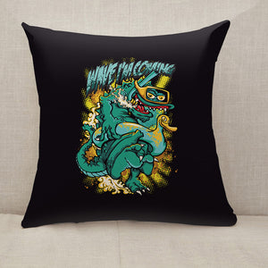 Diving Throw Pillow [With Inserts]