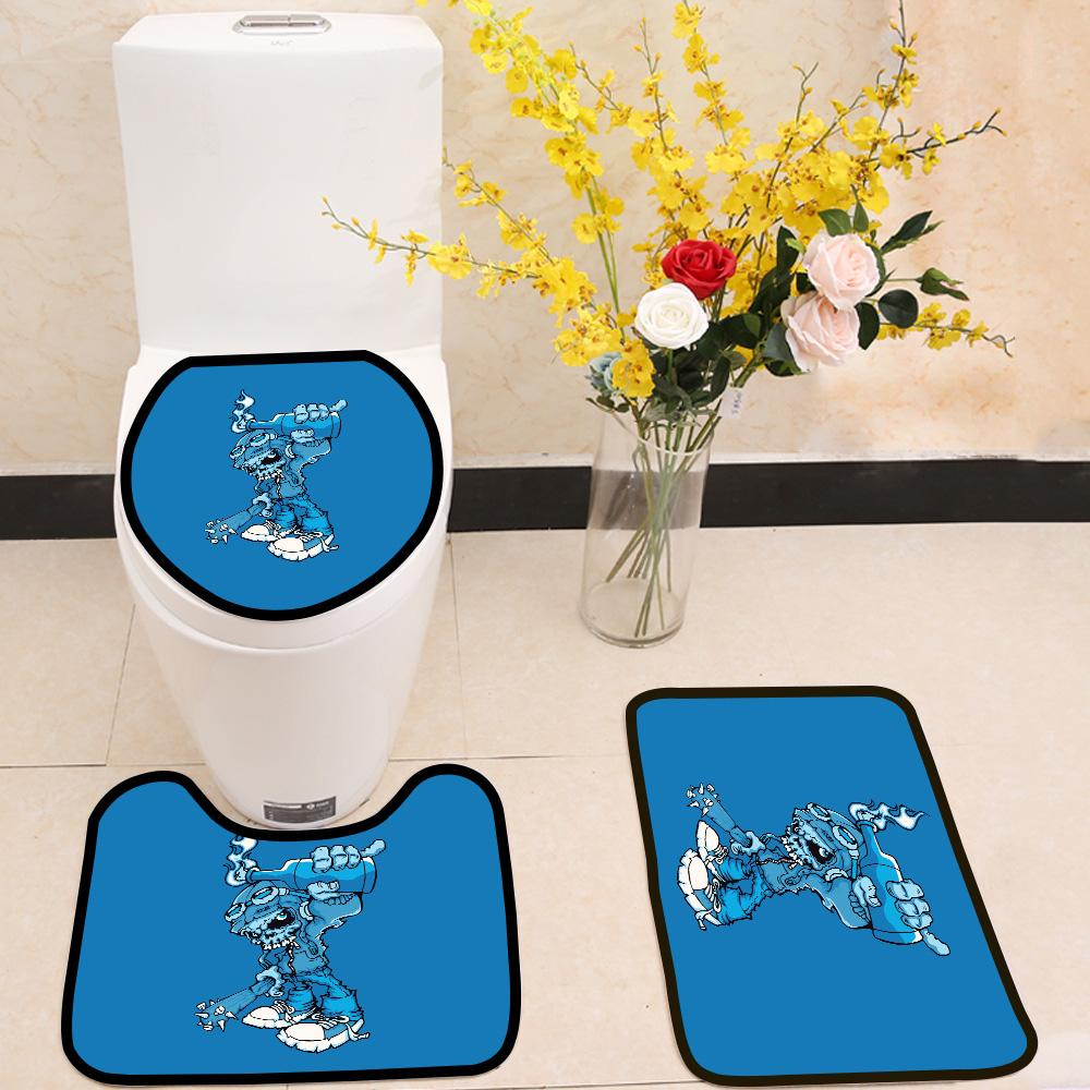 Hooligan 3 Piece Toilet Cover Set