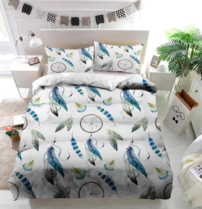 Dreamcatcher Chic Boho Duvet Cover Bedding Set