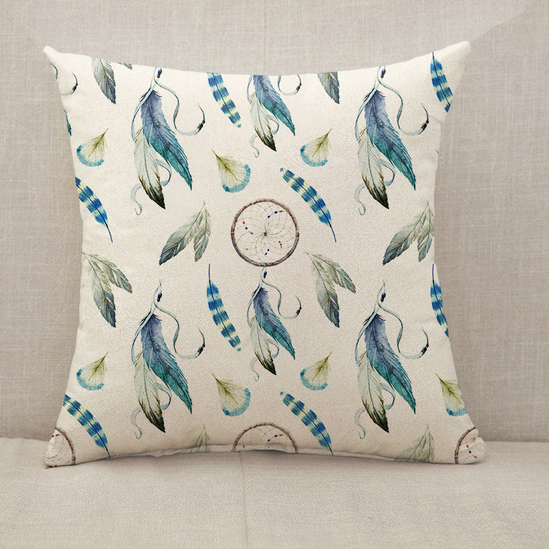 Dreamcatcher Chic Boho Throw Pillow [With Inserts]