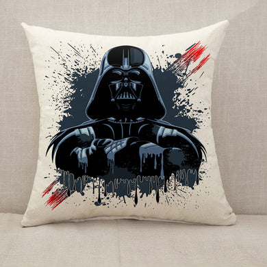 Darth Vader Mask Throw Pillow [With Inserts]