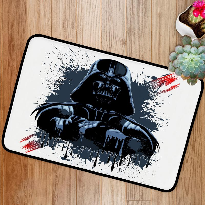 Darth Vader Mask Bath Mat