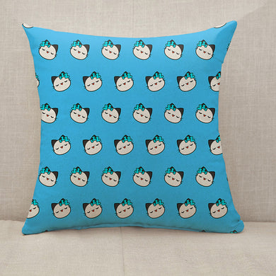 Street cat Throw Pillow [With Inserts]