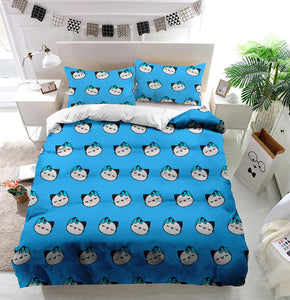 Street cat Duvet Cover Bedding Set