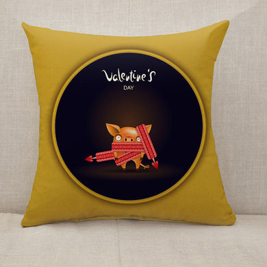 Valentine's day Throw Pillow [With Inserts]
