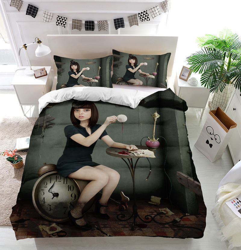 Crazy party Duvet Cover Bedding Set