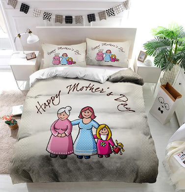 Mother's Day Blessings Family Custom Printing Comforter