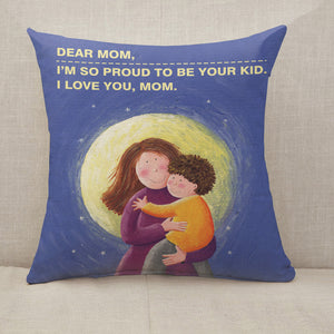 [Personalized] Mother's Day Blessings I love mom Throw Pillow [With Inserts]