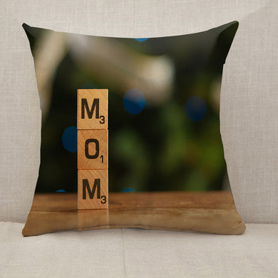 Mother's Day Blessings MOM Throw Pillow [With Inserts]