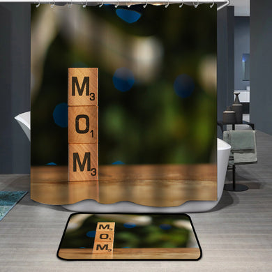 Mother's Day Blessings MOM Shower Curtain