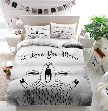 Mother's Day Blessings Shouting Custom Printing Comforter