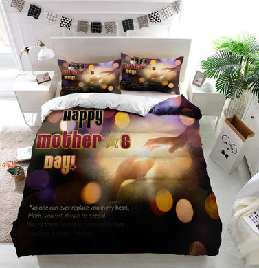 Mother's Day Blessings Hand Hold Custom Printing Comforter