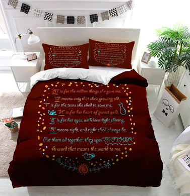 Mother's Day Blessings Meaning Custom Printing Comforter
