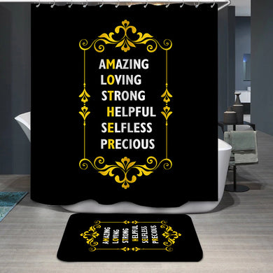 Mother's Day Amazing loving Shower Curtain