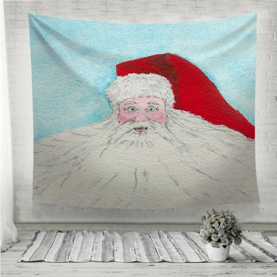 Santa Claus beard Wall Tapestry