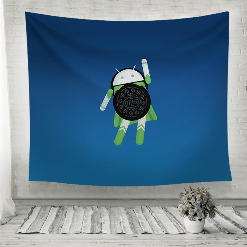 android oreo Wall Tapestry