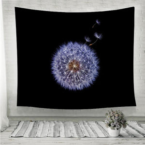 dandelion flower Wall Tapestry
