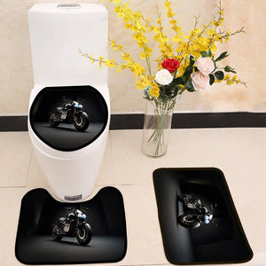 Triumph Rocket 3 TFC 3 Piece Toilet Cover Set