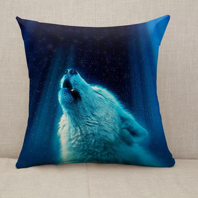 wolf fantasy light Throw Pillow [With Inserts]