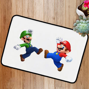 Happy Super Mario Brothers Bath Mat