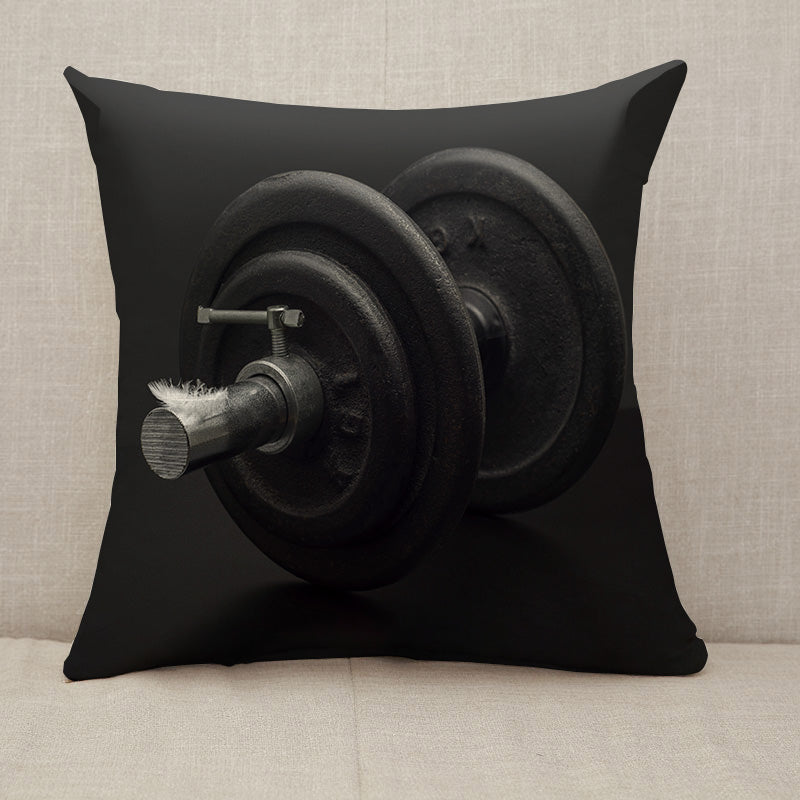Light and heavy Throw Pillow [With Inserts]