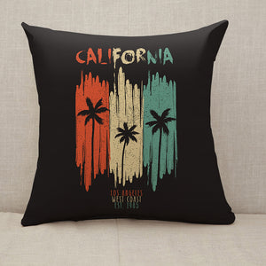 California Los Angeles original apparel design Throw Pillow [With Inserts]