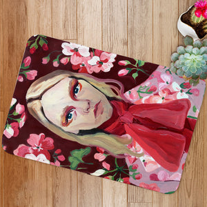 Vintage Model Face Bath Mat