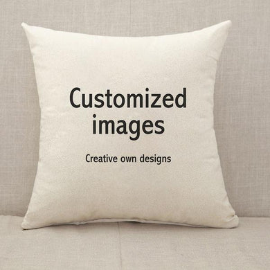 Customized Throw Pillow [With Inserts]