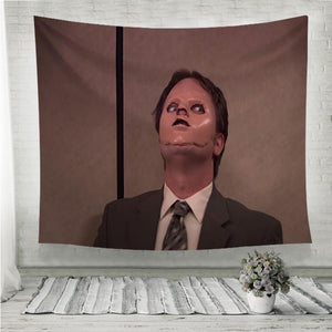 The Office Dwight Schrute Mask Wall Tapestry