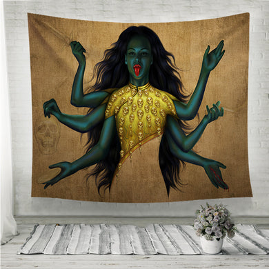 Kali Wall Tapestry