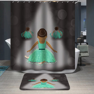Little dancers Shower Curtain