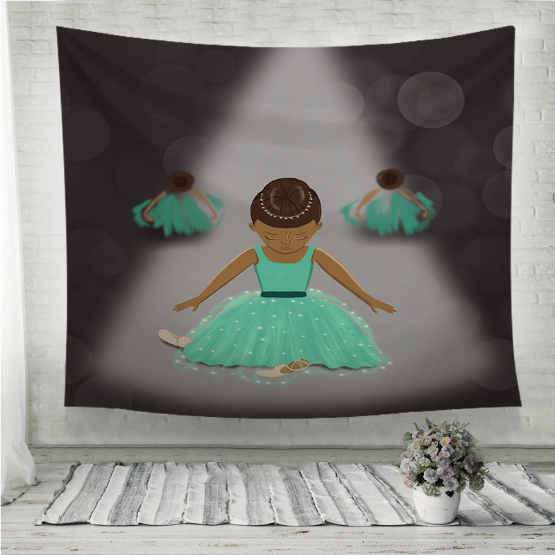 Little dancers Wall Tapestry
