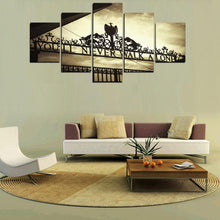 Load image into Gallery viewer, You Will Never Walk Alone Music # - 5 Piece Canvas Wall Art