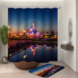 Disney Castle Shower Curtain